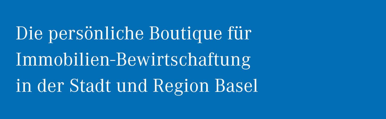 Liegenschaftsverwaltungen Basel